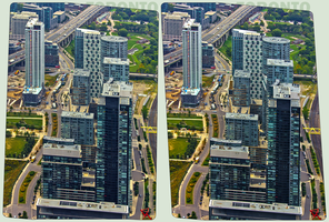 Fort York Boulevard Toronto 3-D by zour