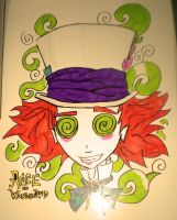 The Mad Hatter by StykFigures