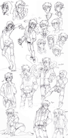 L4D drawings by BlasticHeart