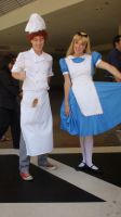 Linguini and Alice at D23-DisneyFan Expo 2013 by trivto