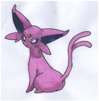 Espeon by twilightlinkjh
