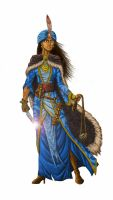 Cleric of Sarenrae by AndrewDeFelice