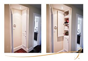 Custom built-in cabinetry 01 by SirInkman
