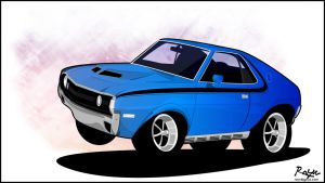AMX muscle by Rayn82