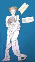 HS: Sollux and Karkat 2.0 by 0paqued