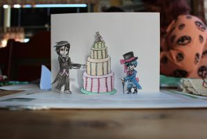 Black Butler .:card:. by SteamprincessMayhem