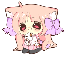 AT with Kittenhime by Aiichu