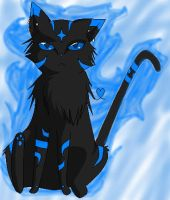 BlackCatOfFire Fursona by BlackCatOfFire