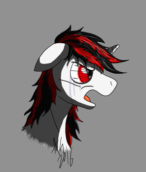 Angry Blackjack sketch by AviatorGriffin