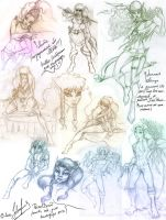 Sketch_21_ElfQuest by oldxer