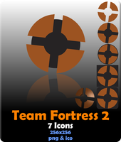 Team Fortress 2 Icons by hackcypher