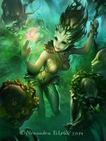 Dryads magic by APetruk
