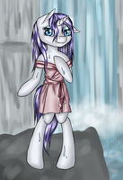 Wet Mane Rarity by Tomatobox96