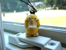 Pokemon Psyduck Polymer Clay by CHR0NIE