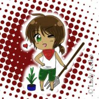 Chibi Costa Rica by LKeiko