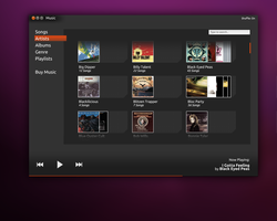Ubuntu Music Player by soggybizkitlulz