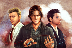 SPN - The Art of Tying Bonds With Scissors by Meinarch
