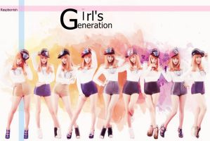 Girls Generation Wallpaper by raspberrishxiu