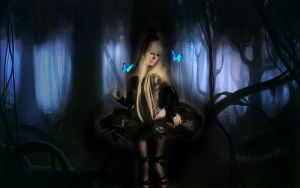 Kerli Koiv In her Dark Forest by SilentShadowsofDeath