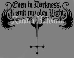 Even in Darkness by Xundra