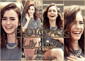 Photopack: Lily Collins by MixtionerSelenator