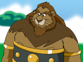 Hercules the Lion by BennytheBeast