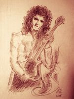 Brian May by AdenoidHinkel