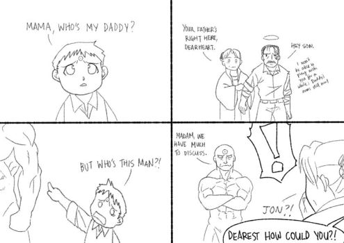 FMA: Who's Your Daddy by HighwindEngineer03