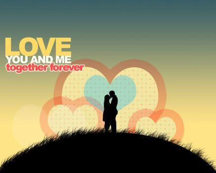 Love - you and me by Pie-Music