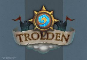 Trolden Hearthstone logo by FirstKeeper