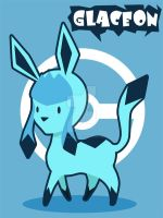 Glaceon by SteveHoltisCool