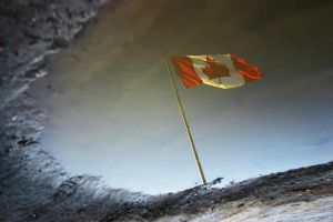 Reflection of a Flag by tfavretto