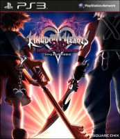 Kingdom Hearts 3ds cover by blueaqua77
