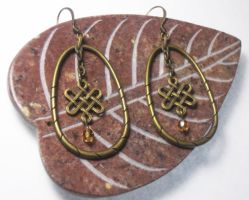 Brass Elegance earrings by jamberry-song