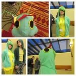 Caterpie Cosplay by wintercool612