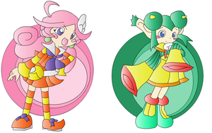 Raffine and Rider Puyo Channel by extremesonic101