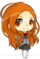 Orihime BLEACH by FBSchin