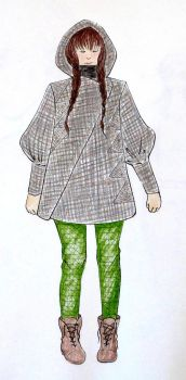 Project Runway Challenge 7:The Elements of Fashion by megpie252