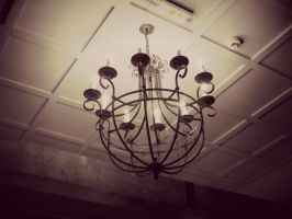 simple yet pretty chandelier by ARAart