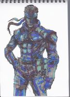 Solid Snake by AndreaSchillaci