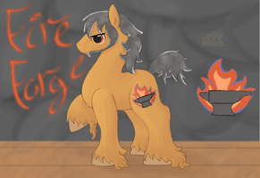 Fire Forge by Kiki-Bunni