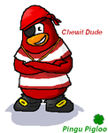 Chewit Dude- Club Penguin by Pingu-Pigloo