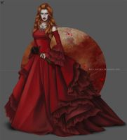 OC color series: Red by barn-swallow