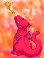 Happy Lava Day by frisbii