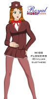 Miss Flowers - civilian form by Dangerman-1973