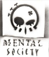 Stencil:Final Mental Society by quietzs