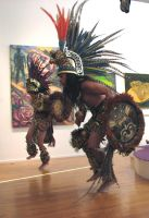 Free Aztec Dancer stock 6 by tursiart