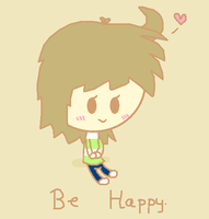 Be Happy. by CaffrinLuvsDHMIS