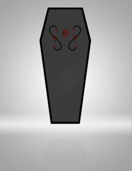 SDS LOGO coffin by xASHLERx