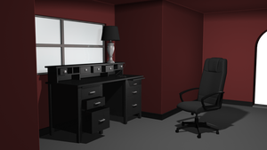 Intro to 3D Modeling - Room by LeoPanthera